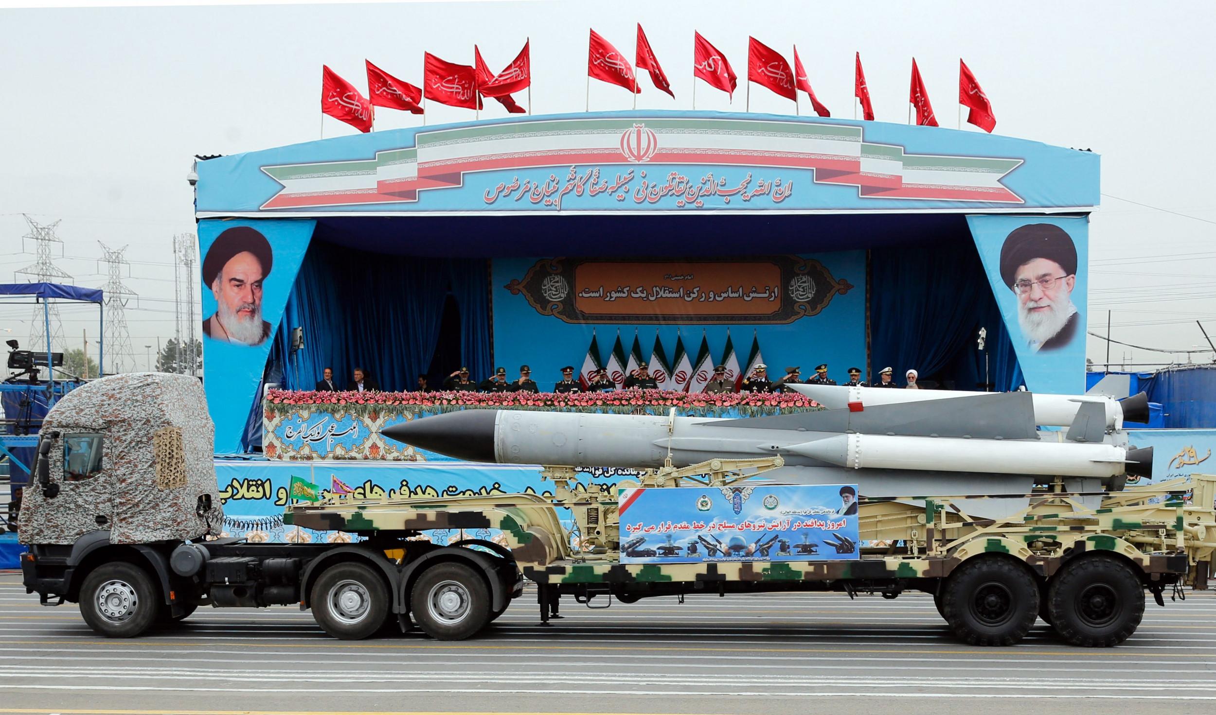 iran army missile program