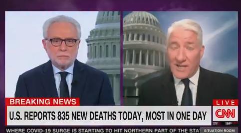 特朗普在疫情发布会上正夸美国呢,CNN切断直播…