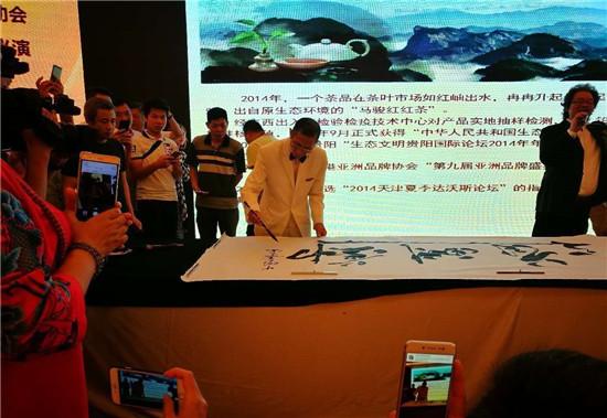 中国意笔字画创始人--马骏
